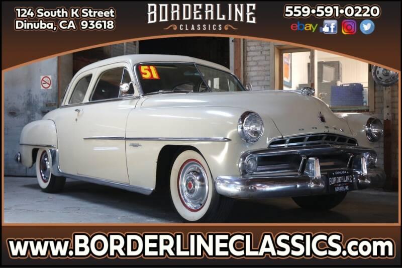 1951 Dodge Coronet for sale at Borderline Classics in Dinuba CA