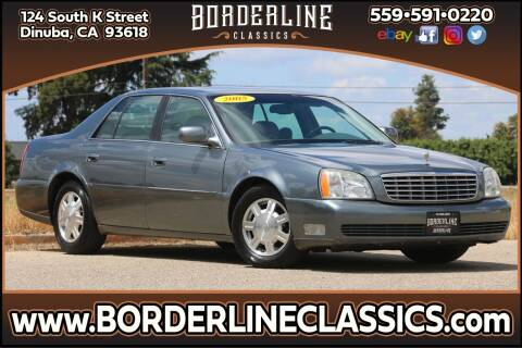 2005 Cadillac DeVille for sale at Borderline Classics in Dinuba CA