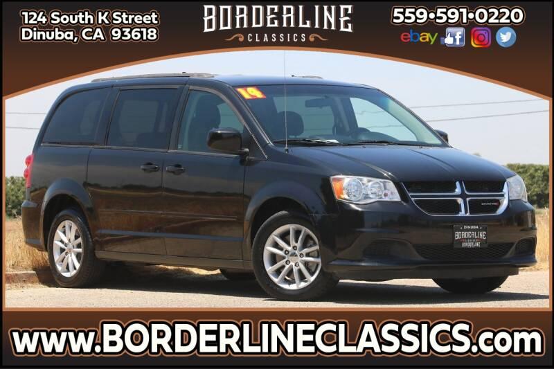 2014 Dodge Grand Caravan for sale at Borderline Classics in Dinuba CA
