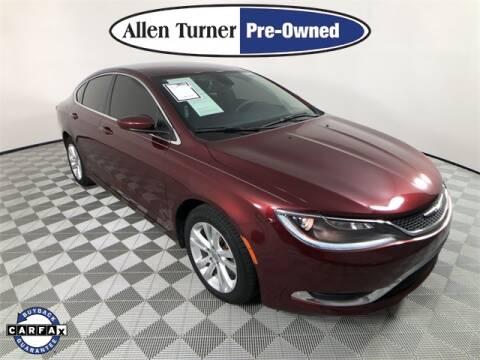 2016 Chrysler 200 for sale at Allen Turner Hyundai in Pensacola FL
