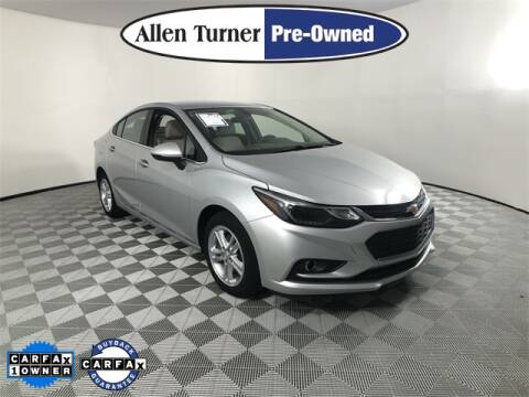 2018 Chevrolet Cruze for sale at Allen Turner Hyundai in Pensacola FL