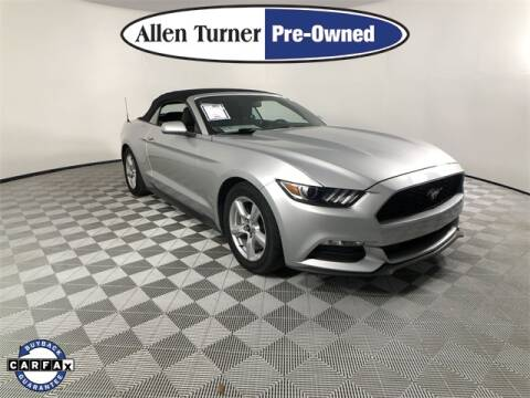 2016 Ford Mustang for sale at Allen Turner Hyundai in Pensacola FL