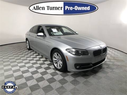 2016 BMW 5 Series for sale at Allen Turner Hyundai in Pensacola FL