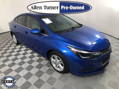 2017 Chevrolet Cruze for sale at Allen Turner Hyundai in Pensacola FL