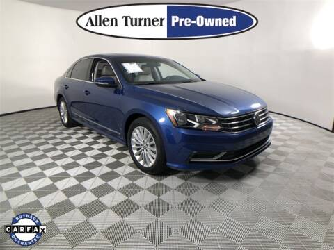 2017 Volkswagen Passat for sale at Allen Turner Hyundai in Pensacola FL