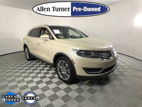 2018 Lincoln MKX for sale at Allen Turner Hyundai in Pensacola FL