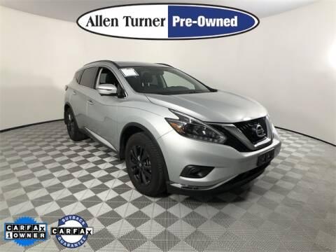 2018 Nissan Murano for sale at Allen Turner Hyundai in Pensacola FL
