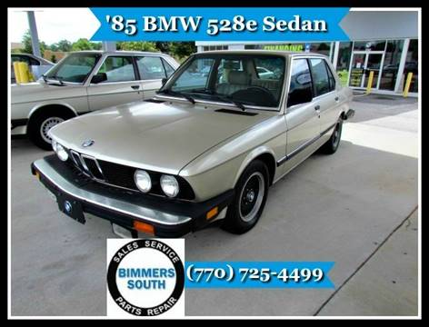 1985 BMW 5 Series for sale in Statham, GA