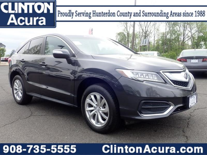 2016 Acura RDX for sale at Clinton Acura used in Clinton NJ