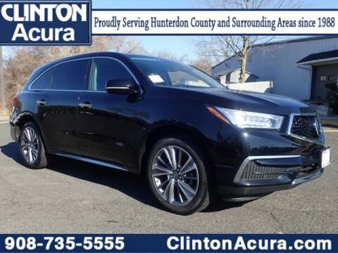 2018 Acura MDX for sale at Clinton Acura used in Clinton NJ