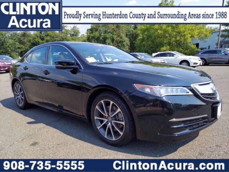 2016 Acura TLX for sale at Clinton Acura used in Clinton NJ