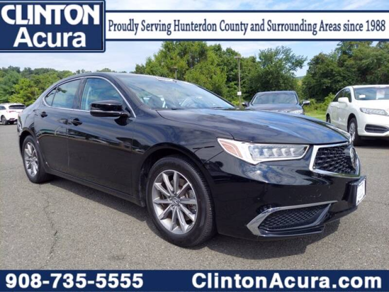 2018 Acura TLX for sale at Clinton Acura used in Clinton NJ