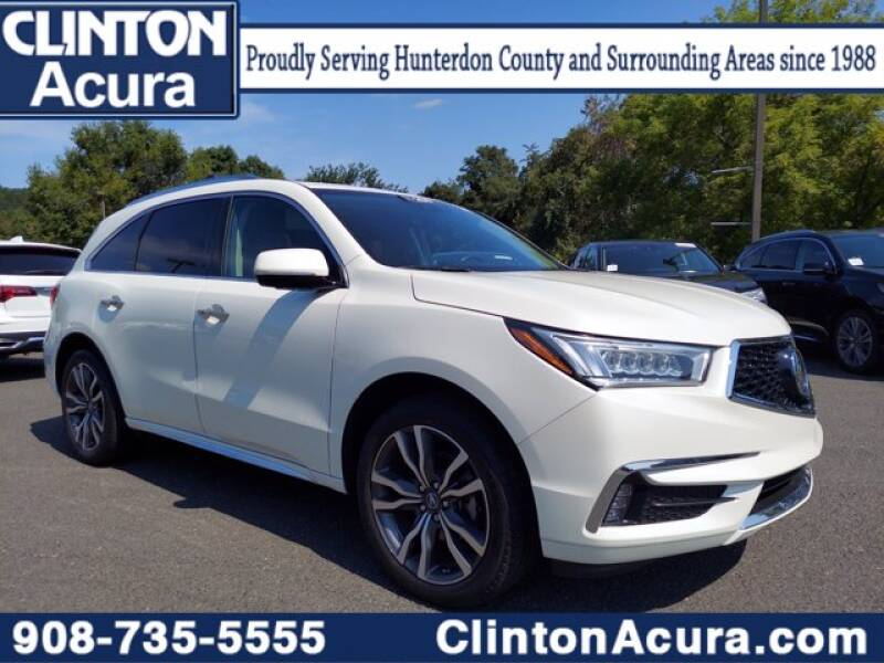 2019 Acura MDX for sale at Clinton Acura used in Clinton NJ