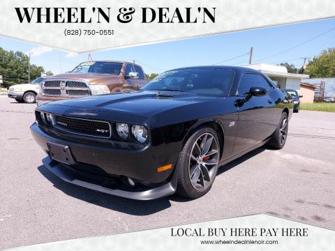 2012 Dodge Challenger for sale at Wheel'n & Deal'n in Lenoir NC