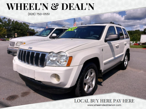 2006 Jeep Grand Cherokee for sale at Wheel'n & Deal'n in Lenoir NC