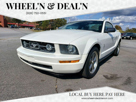 2006 Ford Mustang for sale at Wheel'n & Deal'n in Lenoir NC