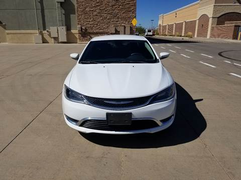 2016 Chrysler 200 for sale at Red Rock's Autos in Denver CO
