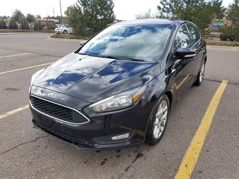 2015 Ford Focus for sale at Red Rock's Autos in Denver CO