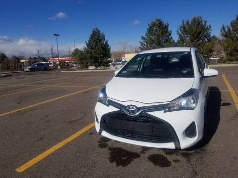 2015 Toyota Yaris for sale at Red Rock's Autos in Denver CO