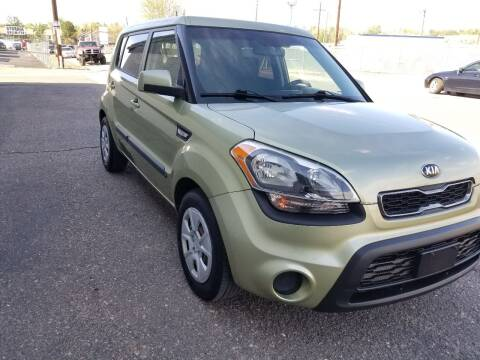 2013 Kia Soul for sale at Red Rock's Autos in Denver CO