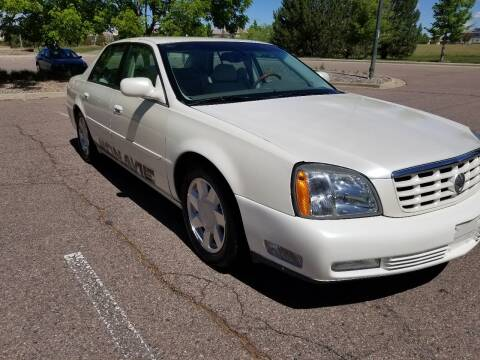 2001 Cadillac DeVille for sale at Red Rock's Autos in Denver CO
