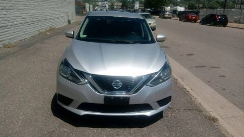 2016 Nissan Sentra for sale at Red Rock's Autos in Denver CO