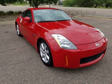 2003 Nissan 350Z for sale at Red Rock's Autos in Denver CO