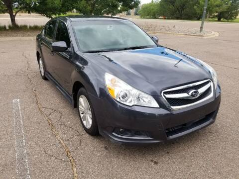 2012 Subaru Legacy for sale at Red Rock's Autos in Denver CO