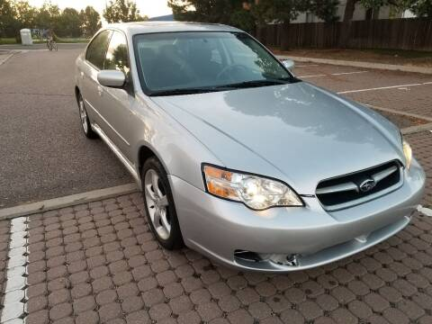 2006 Subaru Legacy for sale at Red Rock's Autos in Denver CO