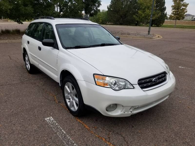 2008 Subaru Outback for sale at Red Rock's Autos in Denver CO