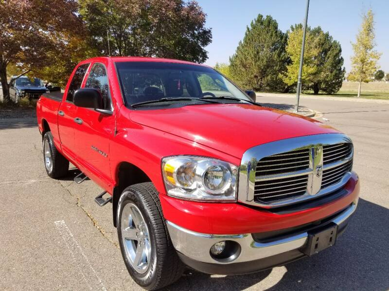 2007 Dodge Ram Pickup 1500 for sale at Red Rock's Autos in Denver CO