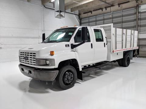 2008 Chevrolet C4500 Kodiak Crew Cab Flatbed for sale in Scottsdale, AZ