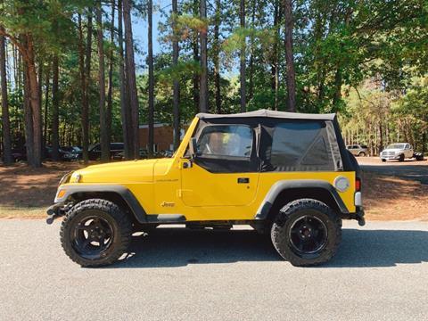 2001 Jeep Wrangler for sale in Oilville, VA