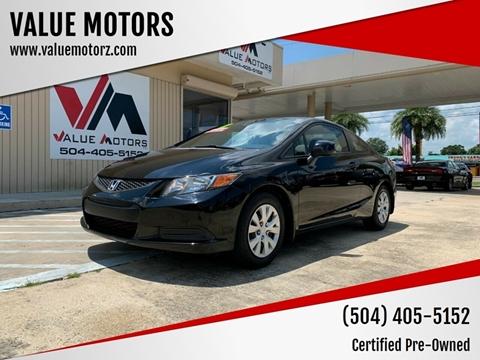 2012 Honda Civic for sale in Kenner, LA