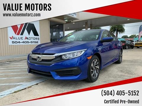 2016 Honda Civic for sale in Kenner, LA