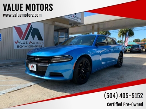 2018 Dodge Charger for sale at VALUE MOTORS in Kenner LA