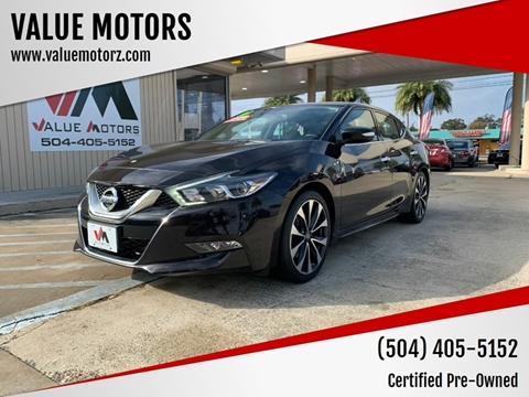 Used Cars Kenner >> 2016 Nissan Maxima For Sale In Kenner La