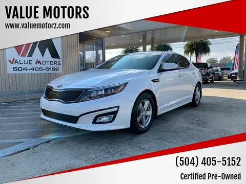 Used Cars Kenner >> 2015 Kia Optima For Sale In Kenner La