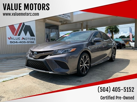 Used Cars Kenner >> 2018 Toyota Camry For Sale In Kenner La
