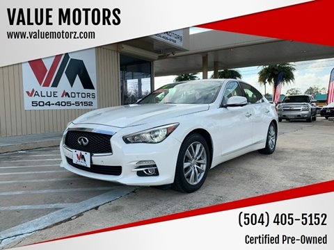 2014 Infiniti Q50 for sale at VALUE MOTORS in Kenner LA