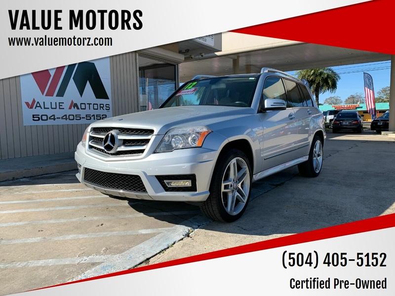 2012 Mercedes-Benz GLK for sale at VALUE MOTORS in Kenner LA