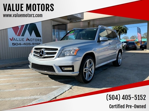 2012 Mercedes-Benz GLK for sale at VALUE MOTORS in Kenner LA