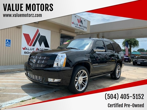 2014 Cadillac Escalade for sale at VALUE MOTORS in Kenner LA