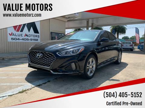 2018 Hyundai Sonata for sale at VALUE MOTORS in Kenner LA