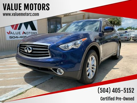 2014 Infiniti QX70 for sale at VALUE MOTORS in Kenner LA