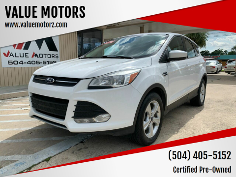2015 Ford Escape for sale at VALUE MOTORS in Kenner LA