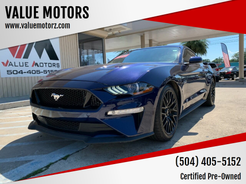 2018 Ford Mustang for sale at VALUE MOTORS in Kenner LA