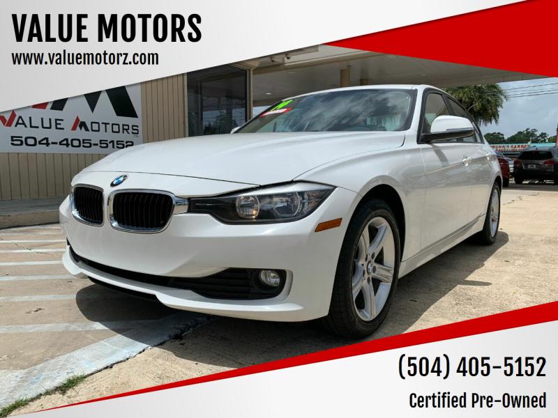 2014 BMW 3 Series for sale at VALUE MOTORS in Kenner LA
