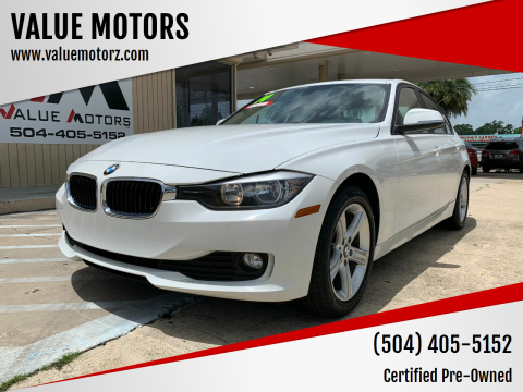 2014 BMW 3 Series for sale at VALUE MOTORS in Kenner LA