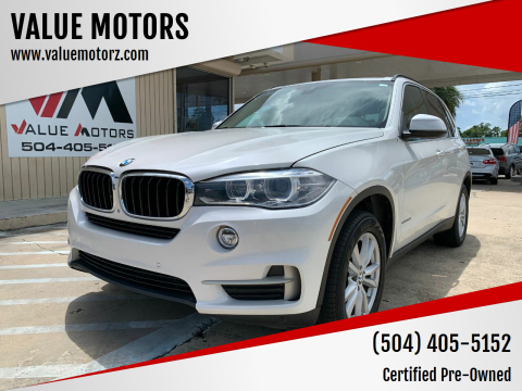 2014 BMW X5 for sale at VALUE MOTORS in Kenner LA